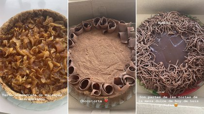 Las delicias preparadas por Maru Botana