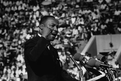 Martin Luther King  (Photo by Ted Williams/Iconic Images/Getty Images)