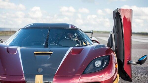 El vehículo superó la marca del Bugatti Chiron