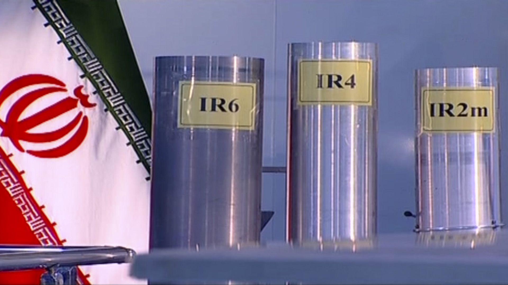 Centrífugas utilizadas por Irán en el enriquecimiento de uranio