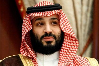 El Príncipe Heredero Mohammed bin Salman durante una reunión con el Secretario de Estado de EE. UU. Mike Pompeo en junio de 2019 (Jacquelyn Martin / Pool a través de REUTERS / archivo)