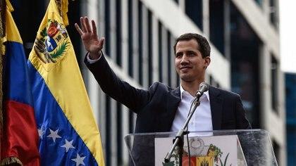 Juan Guaidó, presidente de la Asamblea Nacional proclamado también presidente interino de Venezuela por esa misma cámara (AFP)
