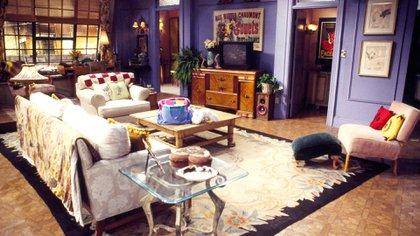 El departamento de Monica, uno de los lugares emblemáticos de la serie
