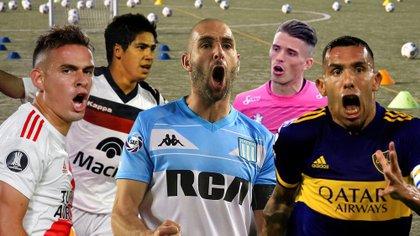 River, Tigre, Racing, Defensa y Justicia y Boca juegan la Copa Libertadores