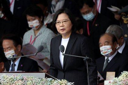 Tsai Ing-wen. REUTERS/Ann Wang/File Photo