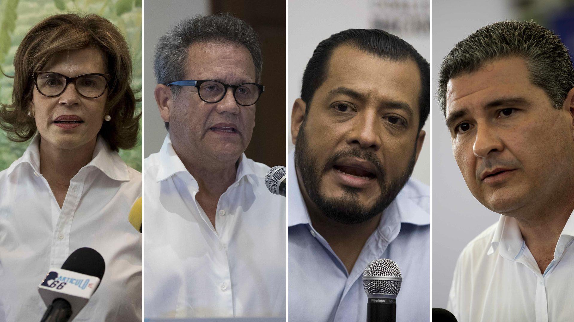 Cristiana Chamorro Arturo Cruz Félix Maradiaga Blandon Juan Sebastián Chamorro - Candidatos Nicaragua arrestos