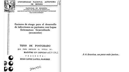 La tesis de Maestría del hoy Subsecretario (Foto: EmeEquis)