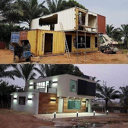 La construcción puede durar 30 a 90 días, dependiendo de las combinaciones que realicen los dueños (@jandyra_zanella)