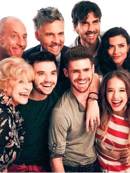 """El elenco de """"Simona"""""""