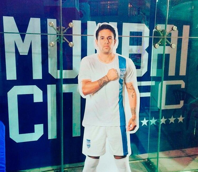 Diego Nadaya jugó la Superliga de India para el Mumbai City