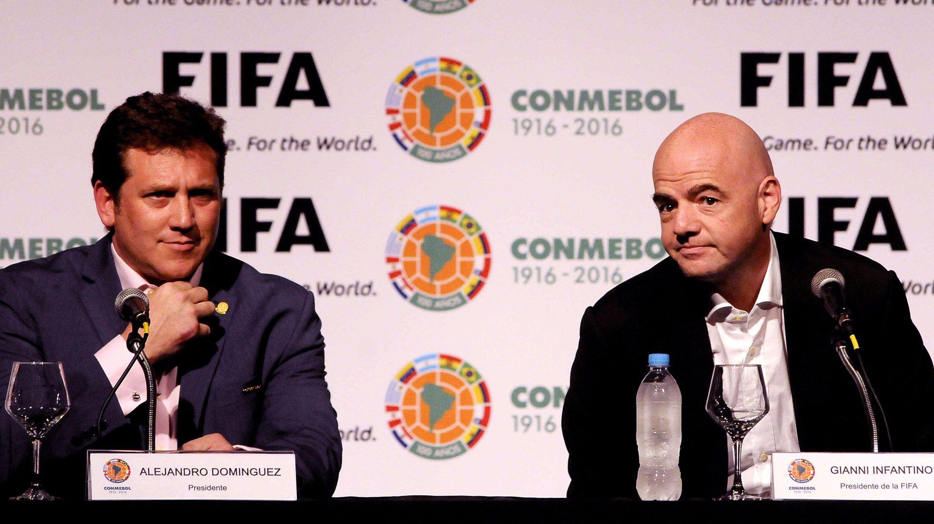 FIFA respaldó la decisión de la Conmebol y ratificó el inicio de las Eliminatorias sudamericanas en octubre Foto: EFE