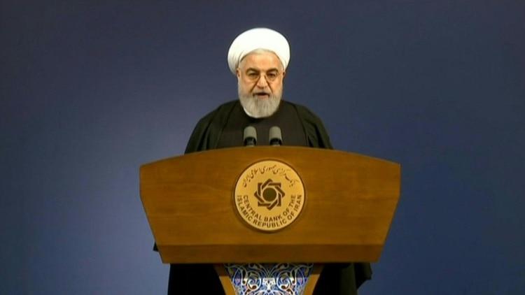 El presidente de Irán, Hassan Rouhani, rechazó las críticas por el manejo de la emergencia del coronavirus