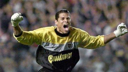 Óscar Córdoba en Boca Juniors.
