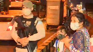 Prefectura bajó mujeres y niños de un colectivo en Puente Pueyrredón: la ministra Frederic se enteró por televisión y dispuso sanciones