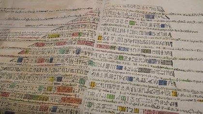 Los estudios de Champollion sobre la PIedra de Rosetta. Impresos en 1820