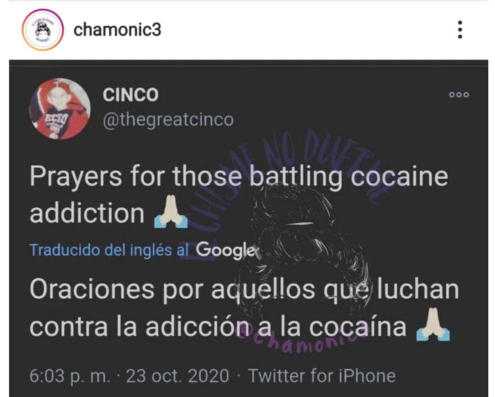 Twitter de Johnny Rivera contra Lorenzo Méndez