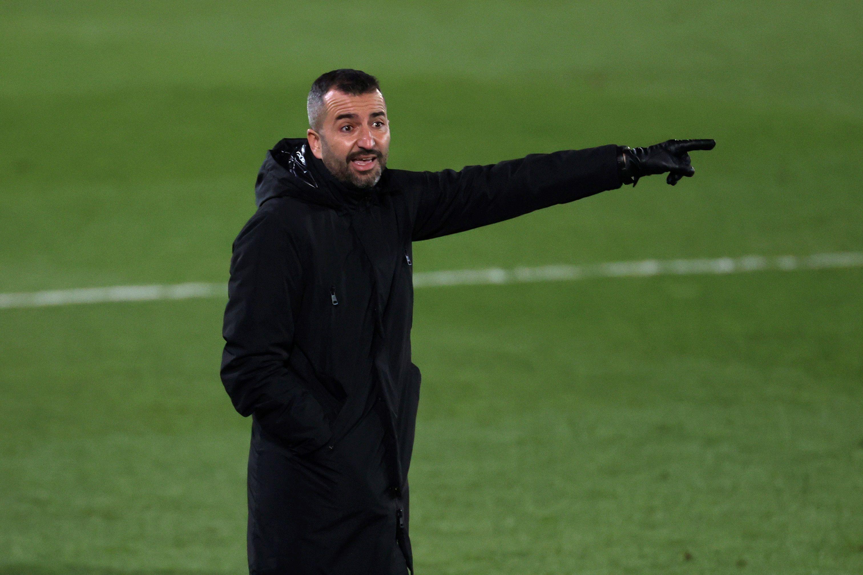 El entrenador del Granada, Diego Martínez. EFE/JuanJo Martín/Archivo