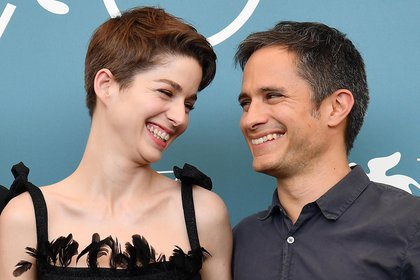 Mexican actor Gael Garcia Bernal (R) and Chilean actress Mariana Di Girolamo (L) pose at a photocall for 'Ema' during the 76th annual Venice International Film Festival, in Venice, Italy. EFE/EPA/Ettore Ferrari/File