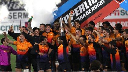 Los Jaguares XV fueron campeones invictos en la Superliga Americana de Rugby
