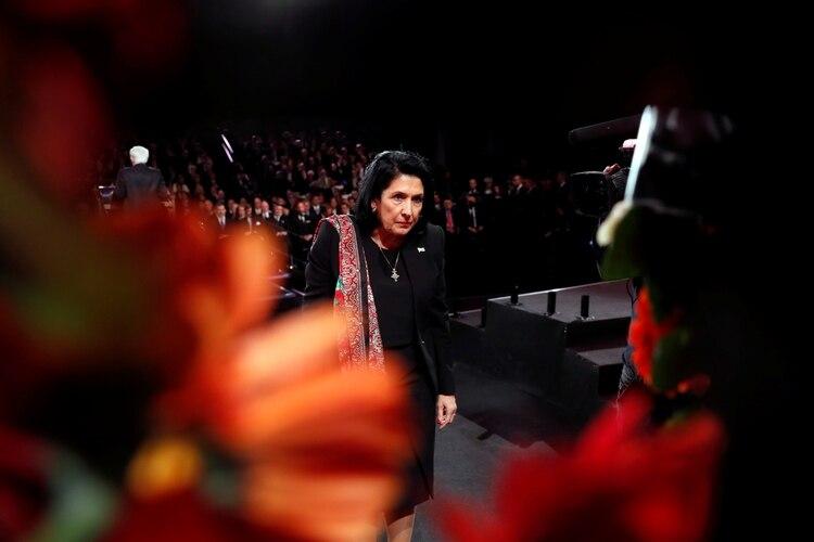 La presidente de Georgia, Salome Zourabichvili. Foto: Ronen Zvulun/REUTERS