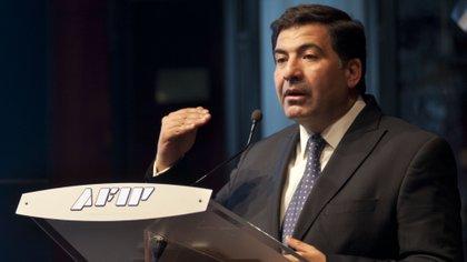 Ricardo Echegaray, titular de la AFIP entre 2008 y 2015