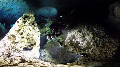 Imagen ilustrativa de un cenote. Ninguno de los cenotes recién descubiertos ha sido explorado  (Foto: EFE/ Eugenio Acevez/IINAH)