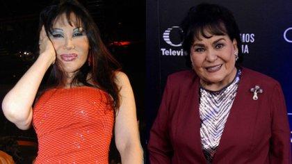 Lyn May aseguró que Carmen Salinas ya no le habla por codearse solamente con políticos de alta esfera (Foto: Cuartoscuro)