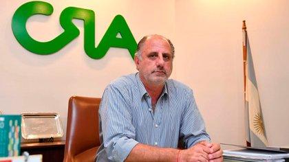 Jorge Chemes, president of CRA