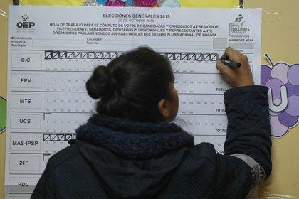 Elecciones en Bolivia (EFE)