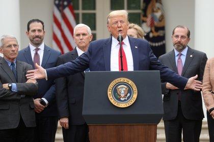Conferencia de prensa de la Casa Blanca (Reuters)