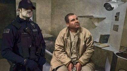 El Chapo Guzmán pasa al menos 23 horas en su celda, en la que come, duerme y se asea (Fotoarte: Steve Allen/Infoabe)