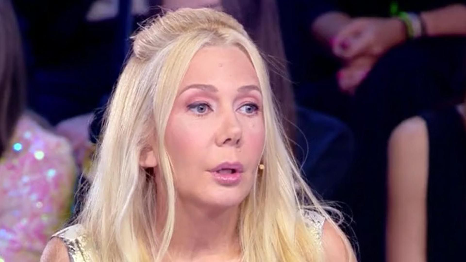 Mariana Nannis en la televisión italiana