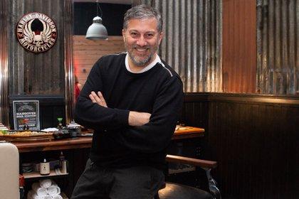 Jorge León, productor de moda invitado de la inauguración de Glow