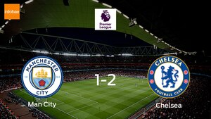 Chelsea ease past Man City with a 2-1 victory away