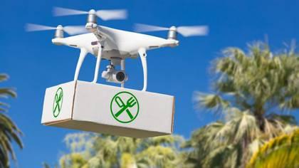 Los drones se utilizan también para la entrega de insumos médicos en Israel