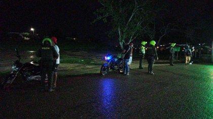 Al descubierto quedó una fiesta ilegal con más de 300 personas en Cartagena