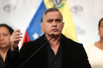 El fiscal general de la dictadura de Venezuela, Tarek William Saab.