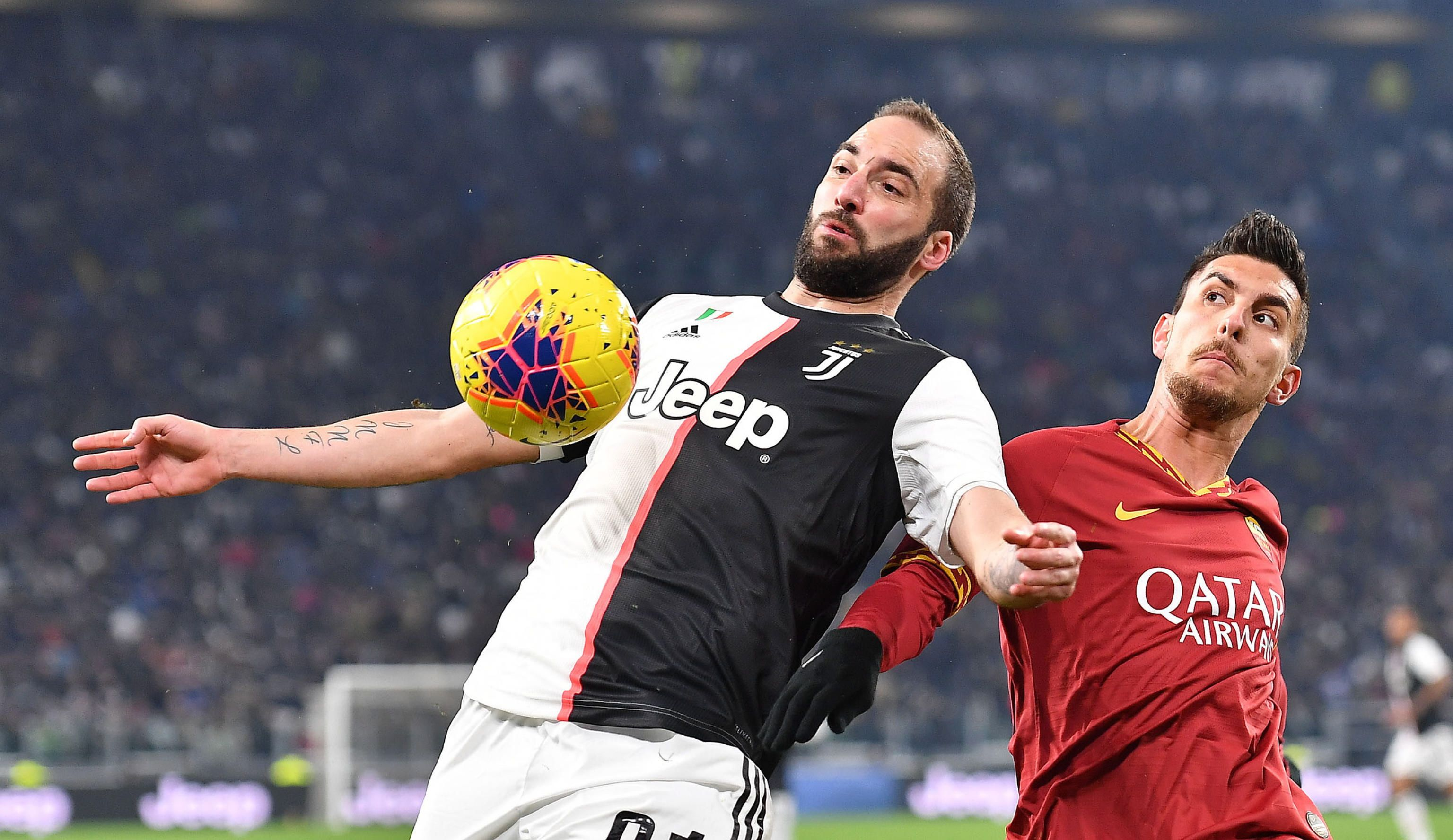 Gonzalo Higuaín sería de la partida ante Roma (EFE/EPA/ALESSANDRO DI MARCO/Archivo)