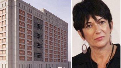 Ghislaine Maxwell está en aislamiento en el centro penitenciario de Brooklyn donde permanecerá detenida hasta su juicio (Foto: bop.gov)