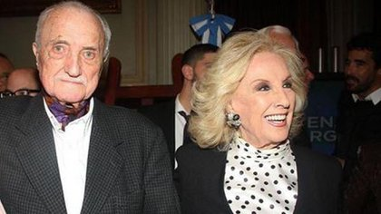 Inseparables: José Martínez Suárez y Mirtha Legrand