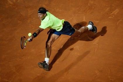 ATP Masters 1000 de Roma- Rafael Nadal debutó con un triunfo ante Pablo Carreño Busta luego de 200 días de inactividad. Foto: REUTERS/Clive Brunskill