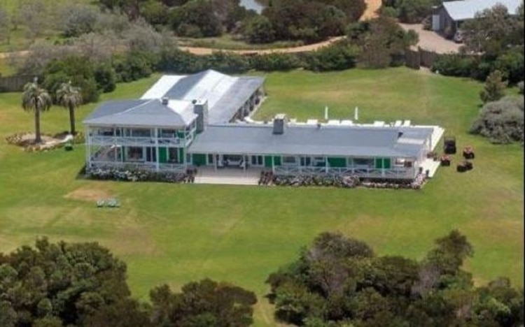 La mansión de Marcelo Tinelli