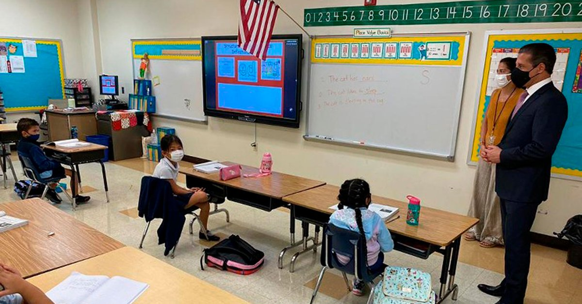 Miami keeps its Schools despite exceeding 350 thousand COVID-19 Infections
