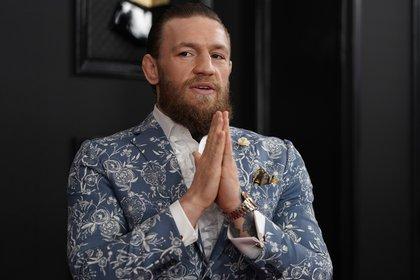 Conor McGregor donó un millón de euros a hospitales de Irlanda para la lucha contra el coronavirus (REUTERS/Mike Blake)