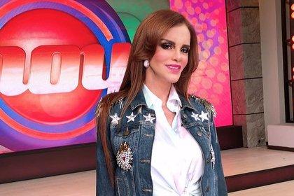 Lucía Méndez estuvo de visita en Televisa y terminó criticada (IG: programahoy)