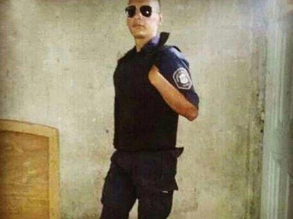 A lo largo de todo el 2019, Sosa subió fotos vestido de policía a sus redes sociales