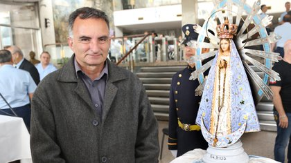 """Daniel Doronzoro fue el hombre que halló el artículo que motivó el """"operativo retorno"""". Foto: Giovanni Sacchetto."""