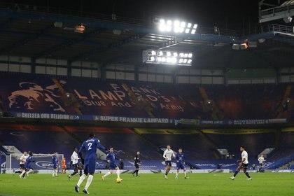 Foto ilustrativa del lunes del estadio del Chelsea en el partido ante Aston Villa.  Dic 28, 2020.  Pool via REUTERS/Catherine Ivill