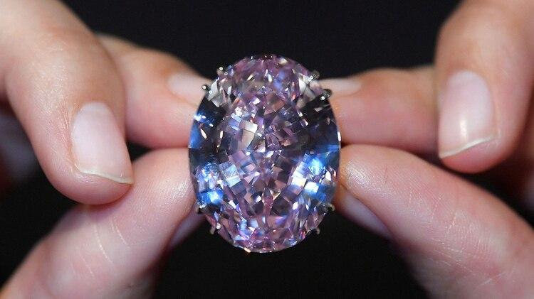 El Pink Star, subastado en 20174 por USD 71 millones