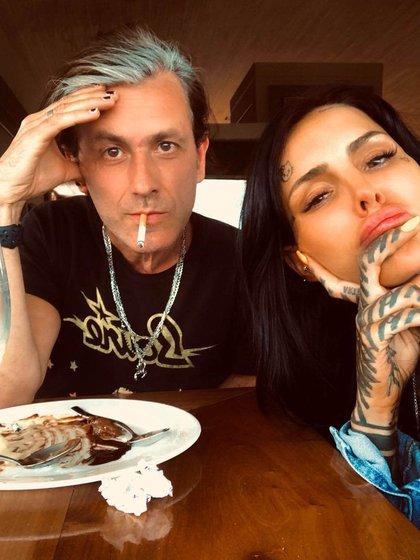 La foto que compartieron Cande Tinelli y Coti Sorokin en sus respectivas cuentas de Instagram